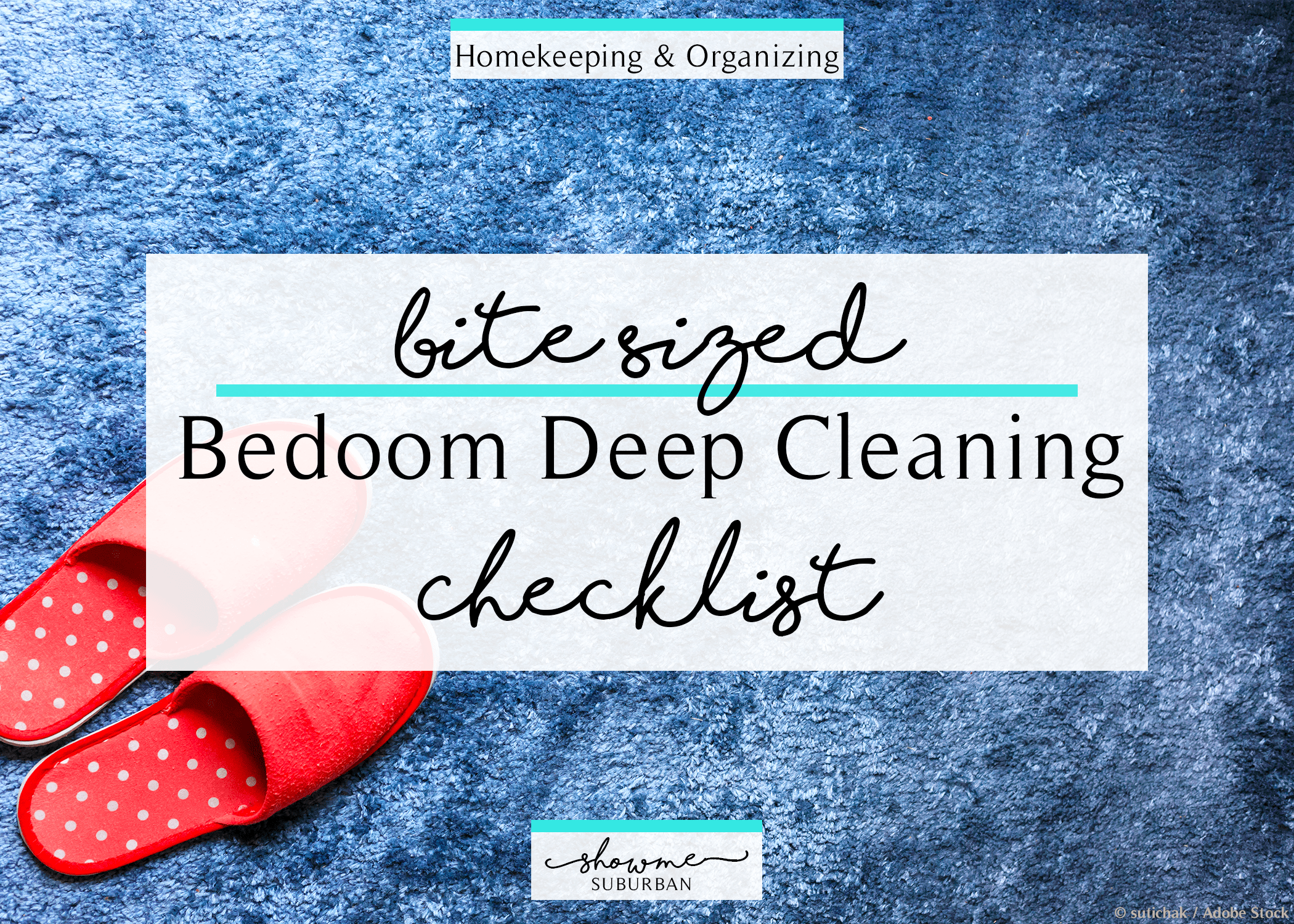 How To Deep Clean Your Bedroom A Little At A Time Free Checklist Showme Suburban