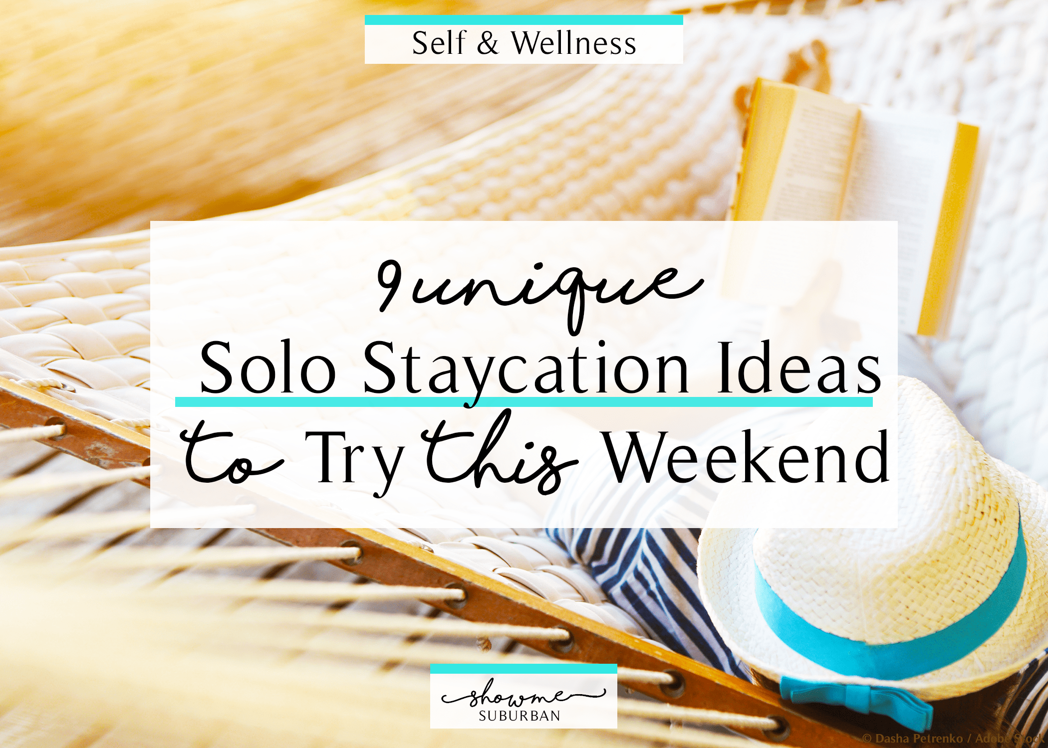 9 unique solo staycation ideas to try this weekend